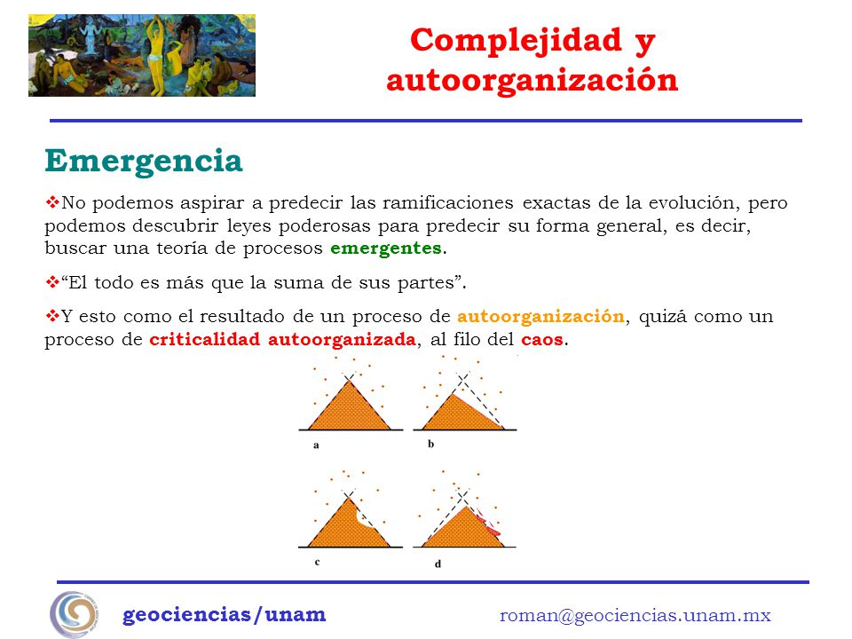 Emergencia geociencias/unam roman@geociencias.unam.mx