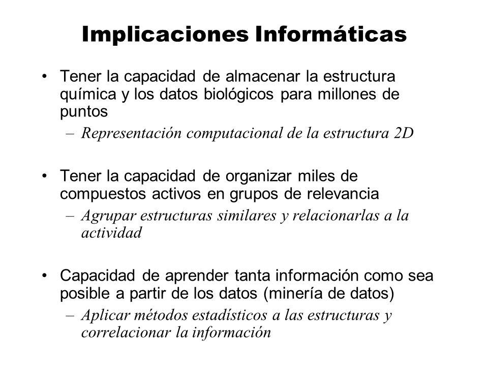 Implicaciones Informáticas