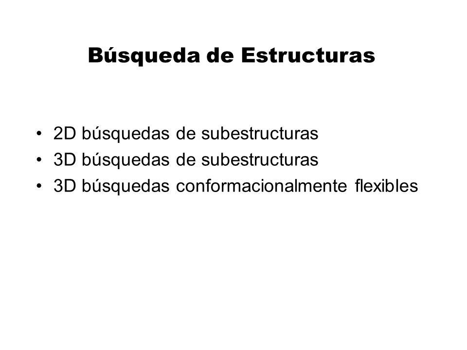 Búsqueda de Estructuras