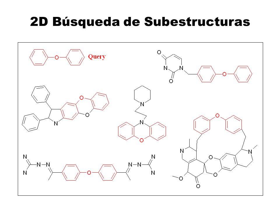 2D Búsqueda de Subestructuras