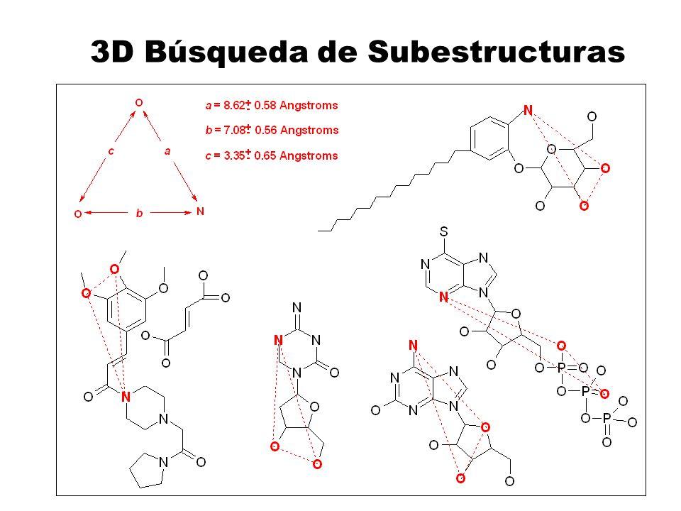 3D Búsqueda de Subestructuras
