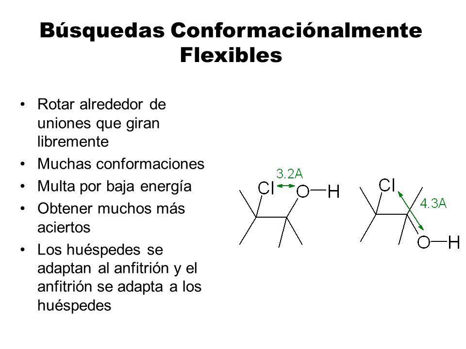 Búsquedas Conformaciónalmente Flexibles