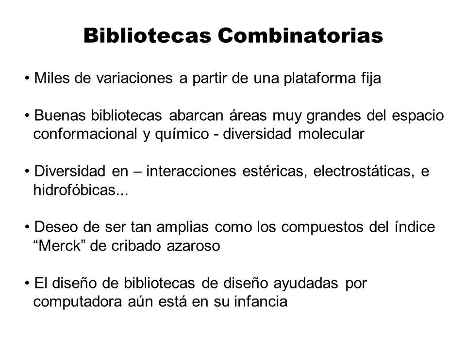 Bibliotecas Combinatorias