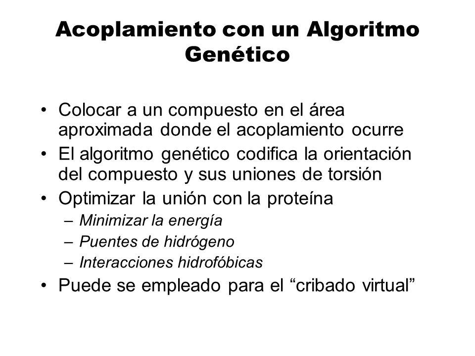 Acoplamiento con un Algoritmo Genético