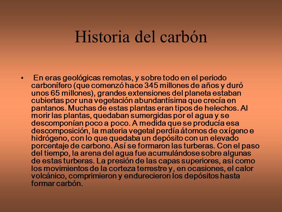 Historia del carbón