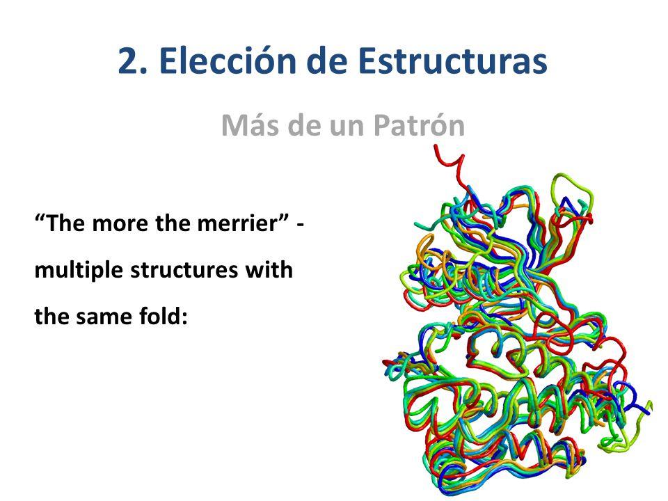 2. Elección de Estructuras