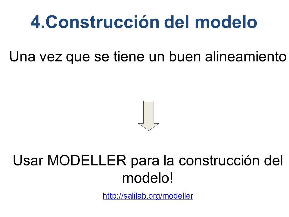 4.Construcción del modelo