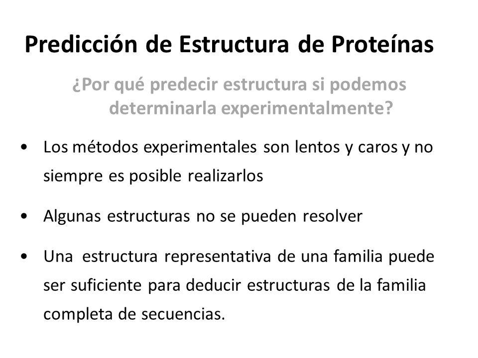 Predicción de Estructura de Proteínas