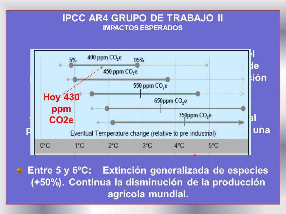 IPCC AR4 GRUPO DE TRABAJO II IPCC AR4 GRUPO DE TRABAJO II