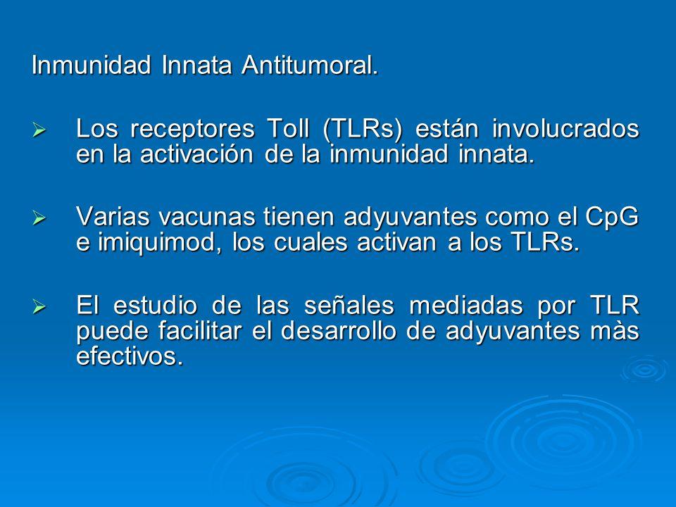 Inmunidad Innata Antitumoral.