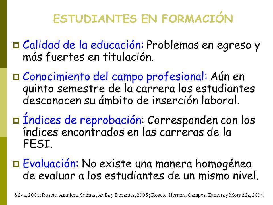 ESTUDIANTES EN FORMACIÓN