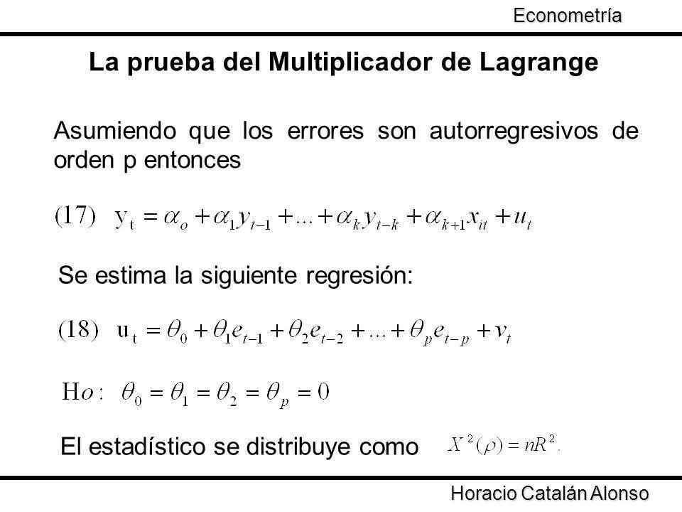 La prueba del Multiplicador de Lagrange