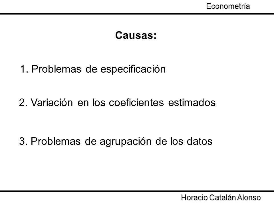 1. Problemas de especificación