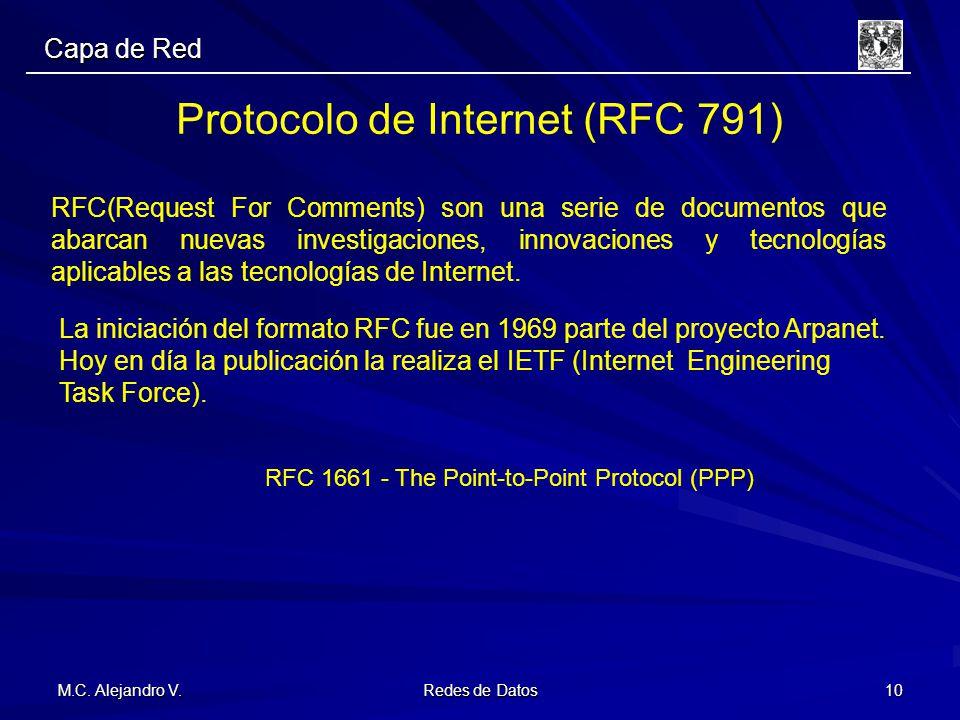 Protocolo de Internet (RFC 791)