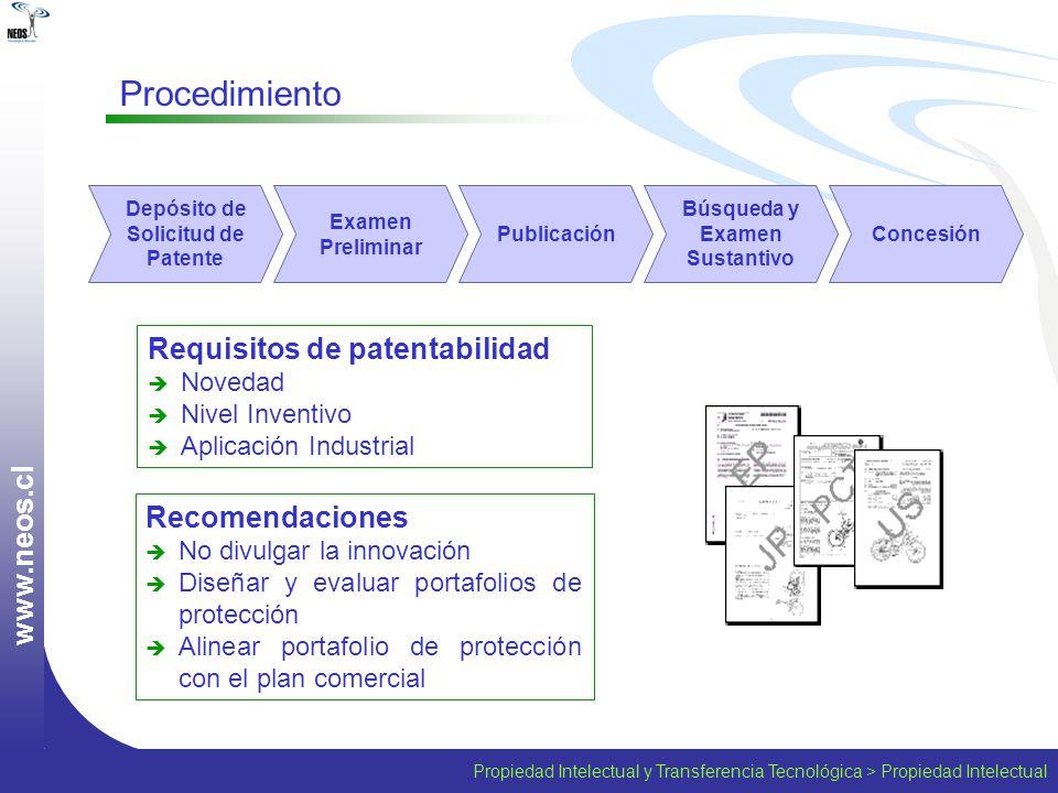 Depósito de Solicitud de Patente Búsqueda y Examen Sustantivo