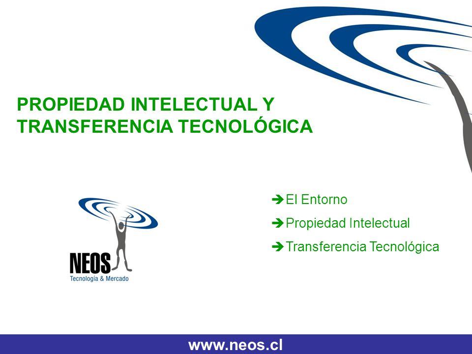 PROPIEDAD INTELECTUAL Y TRANSFERENCIA TECNOLÓGICA