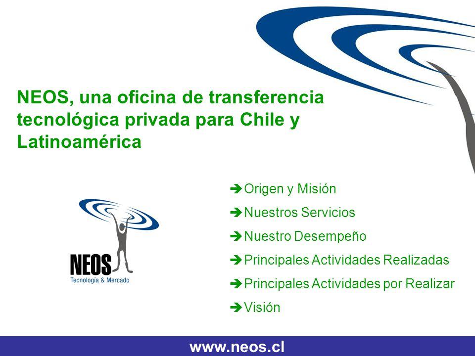 NEOS, una oficina de transferencia tecnológica privada para Chile y Latinoamérica