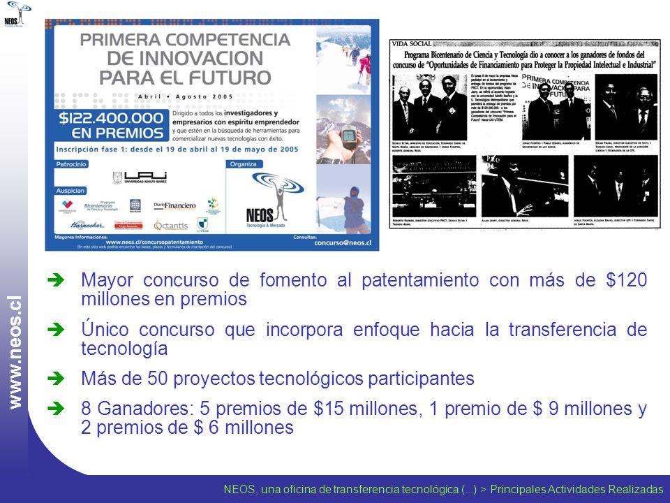 Más de 50 proyectos tecnológicos participantes
