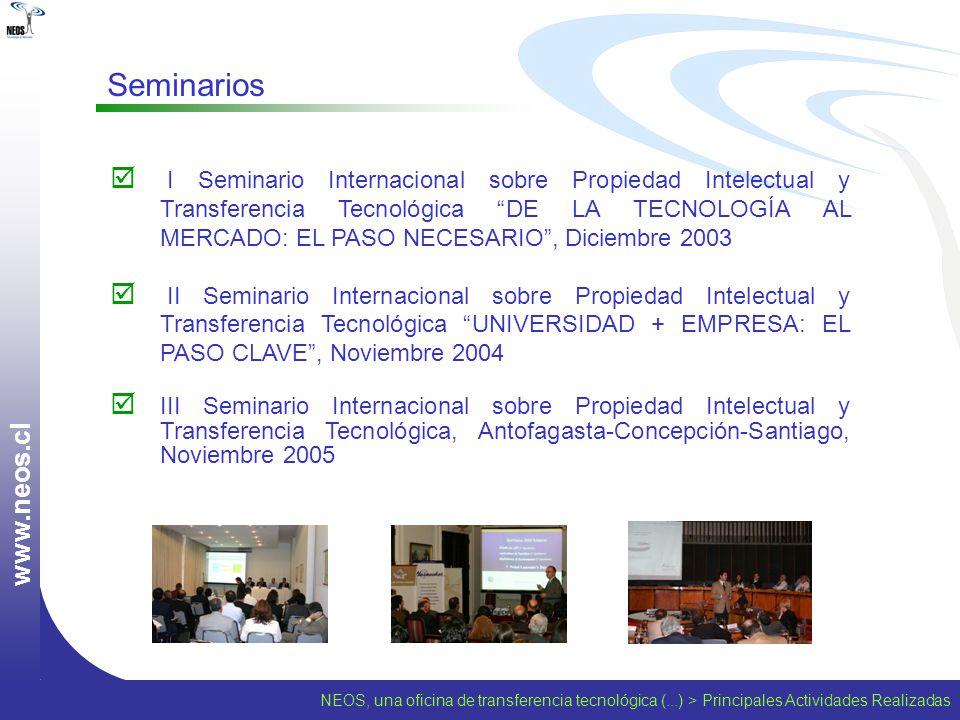 www.neos.cl Seminarios.