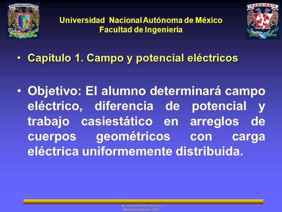 Capitulo 1. Campo y potencial eléctricos