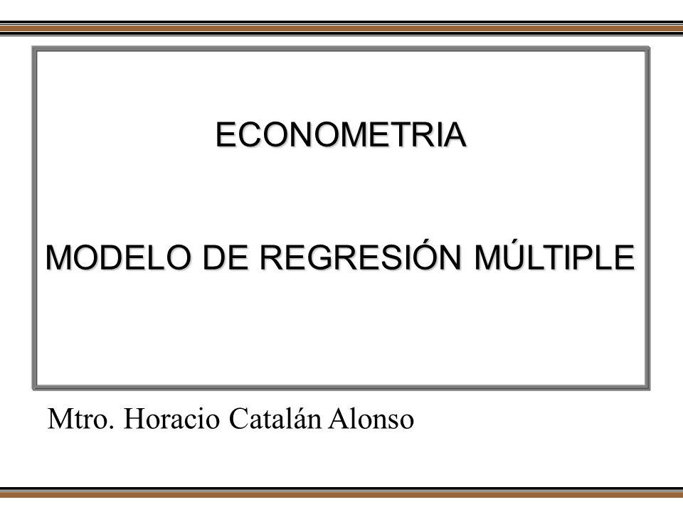 MODELO DE REGRESIÓN MÚLTIPLE