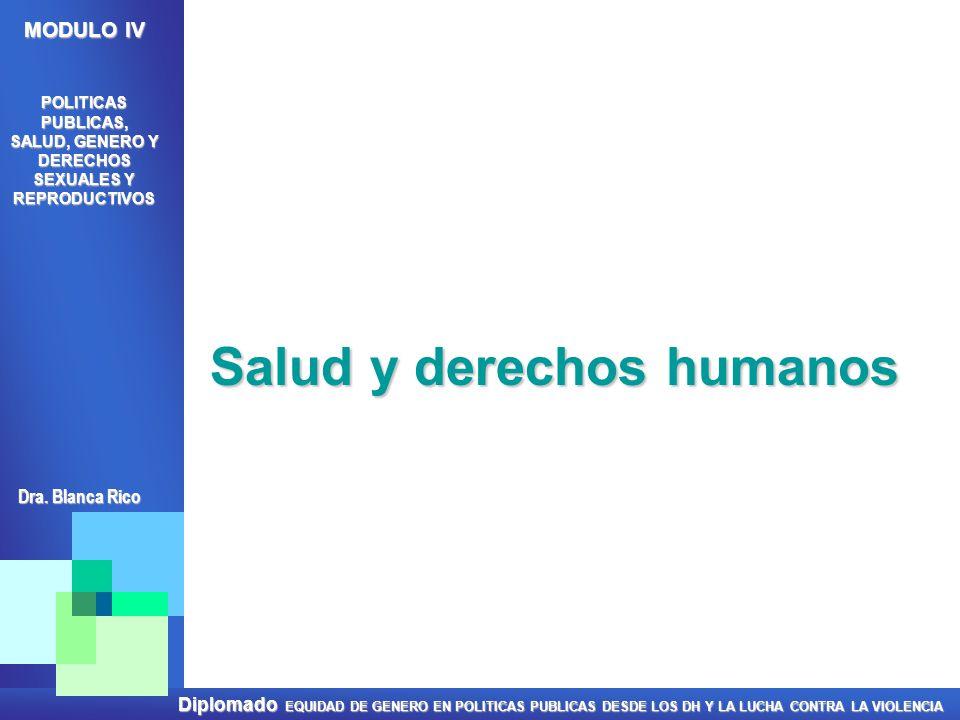 Salud y derechos humanos