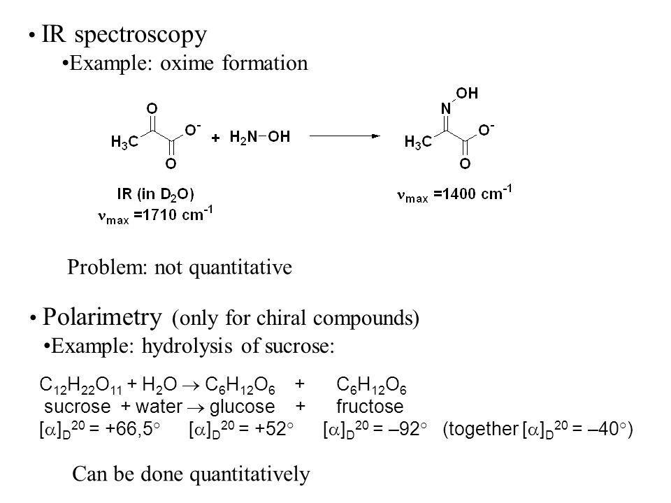 Example: oxime formation