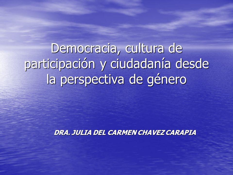 DRA. JULIA DEL CARMEN CHAVEZ CARAPIA