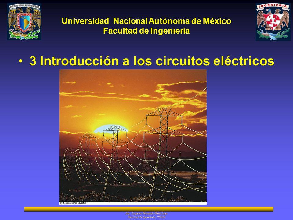 3 Introducción a los circuitos eléctricos