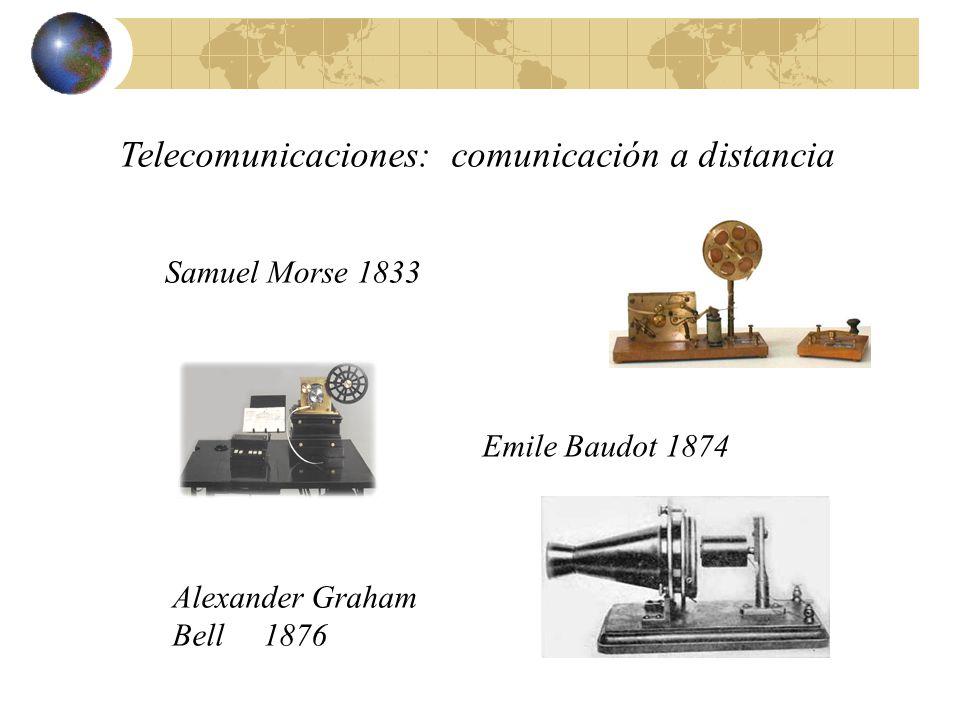 Telecomunicaciones: comunicación a distancia