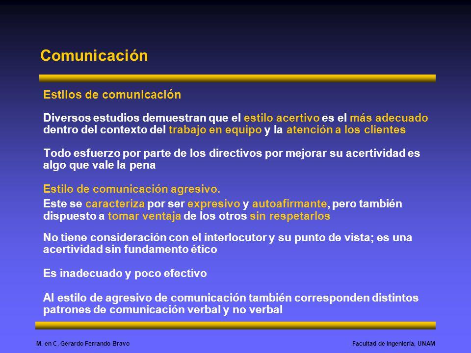 Comunicación Estilos de comunicación