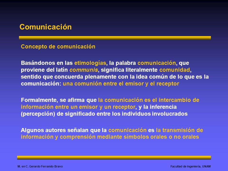 Comunicación Concepto de comunicación