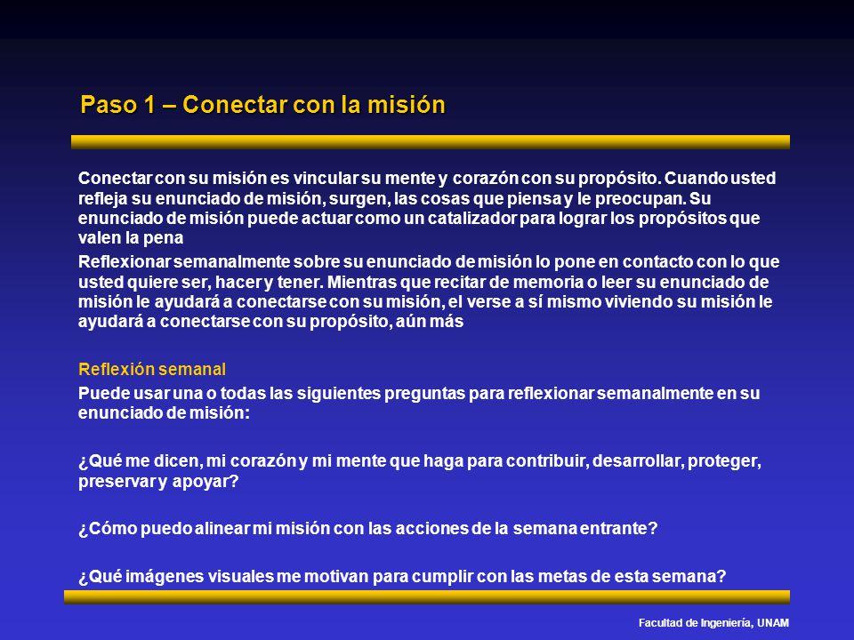 Paso 1 – Conectar con la misión