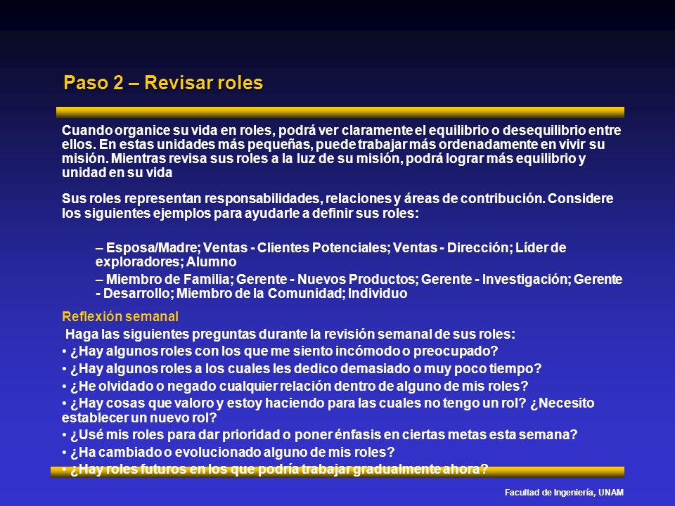 Paso 2 – Revisar roles