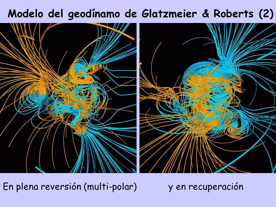 Modelo del geodínamo de Glatzmeier & Roberts (2)