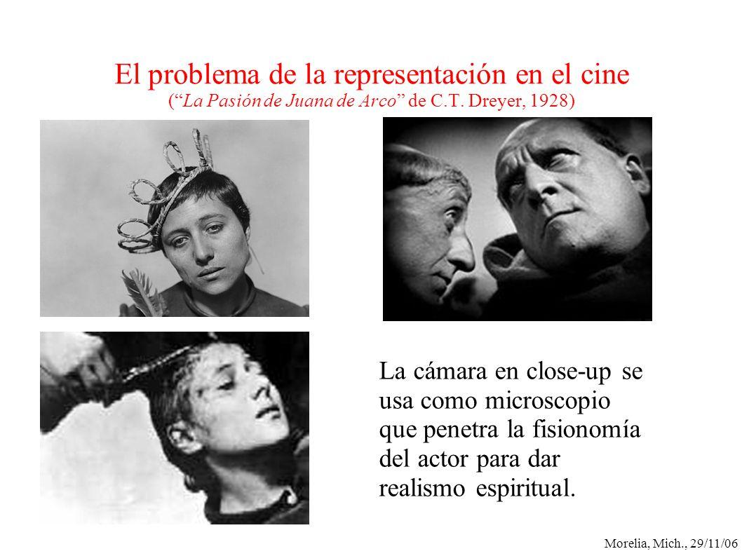 El problema de la representación en el cine ( La Pasión de Juana de Arco de C.T. Dreyer, 1928)