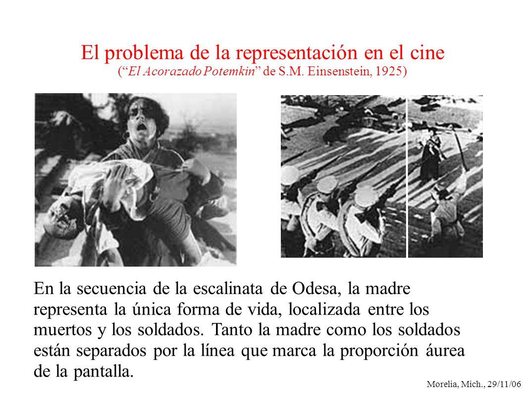 El problema de la representación en el cine ( El Acorazado Potemkin de S.M. Einsenstein, 1925)