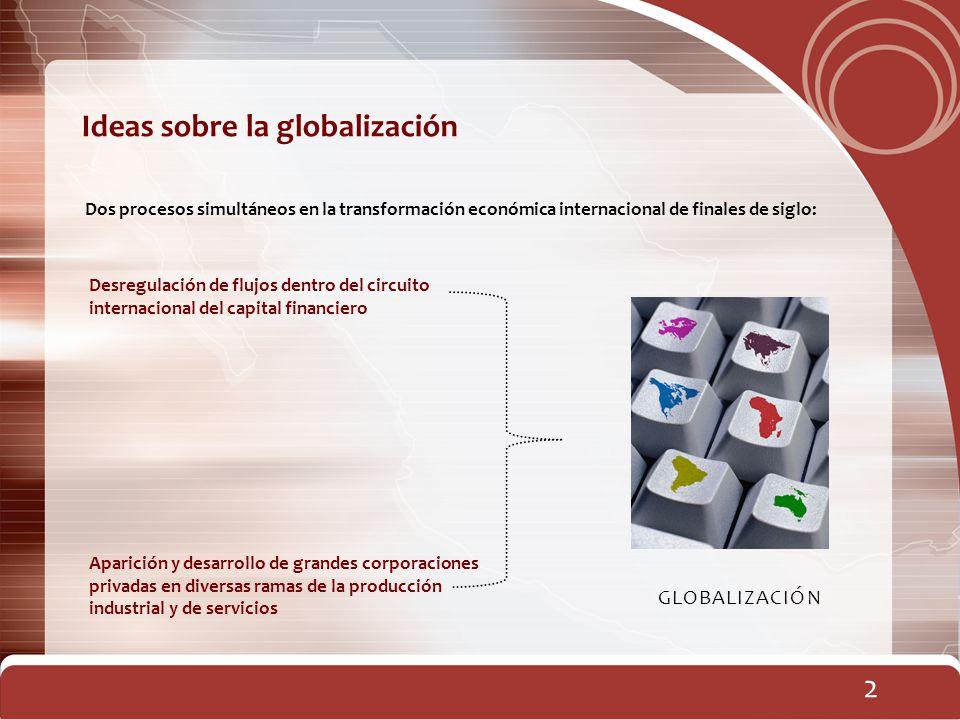 Ideas sobre la globalización