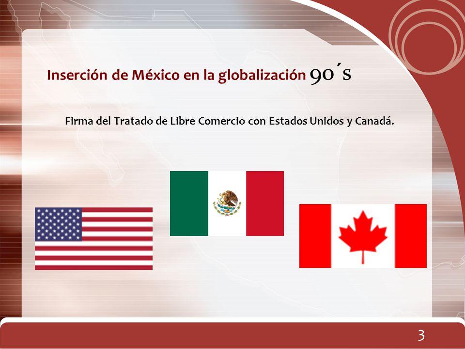 Firma del Tratado de Libre Comercio con Estados Unidos y Canadá.