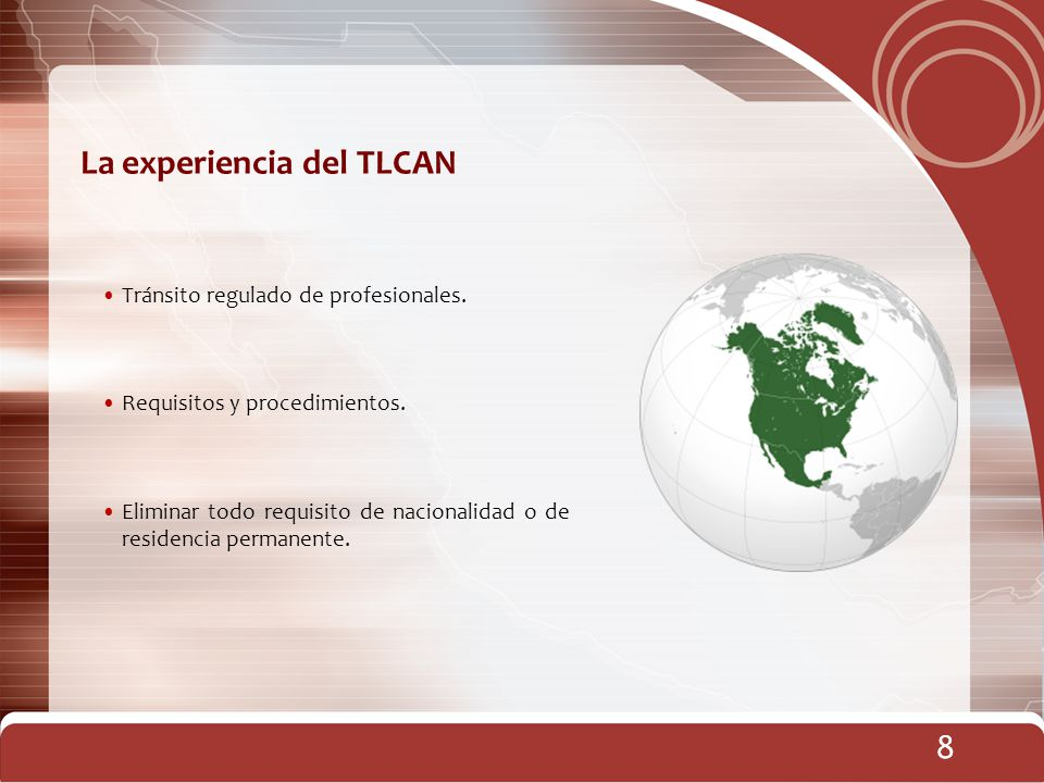 La experiencia del TLCAN
