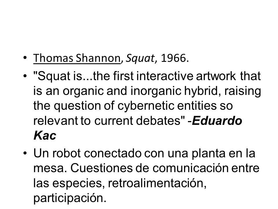 Thomas Shannon, Squat, 1966.