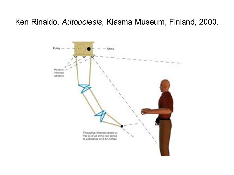 Ken Rinaldo, Autopoiesis, Kiasma Museum, Finland, 2000.