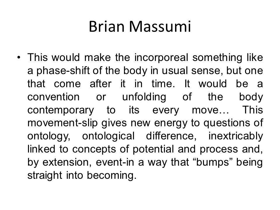 Brian Massumi