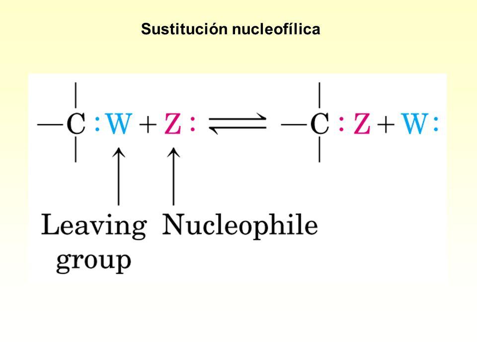 Sustitución nucleofílica