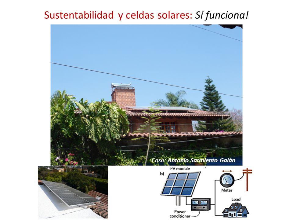 Sustentabilidad y celdas solares: Sí funciona!