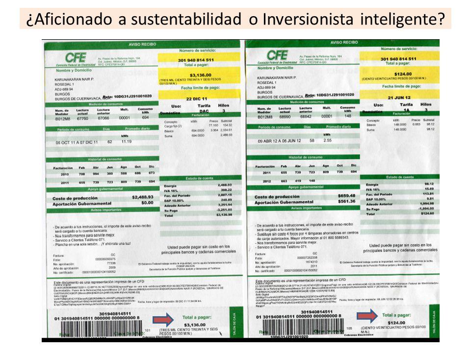 ¿Aficionado a sustentabilidad o Inversionista inteligente