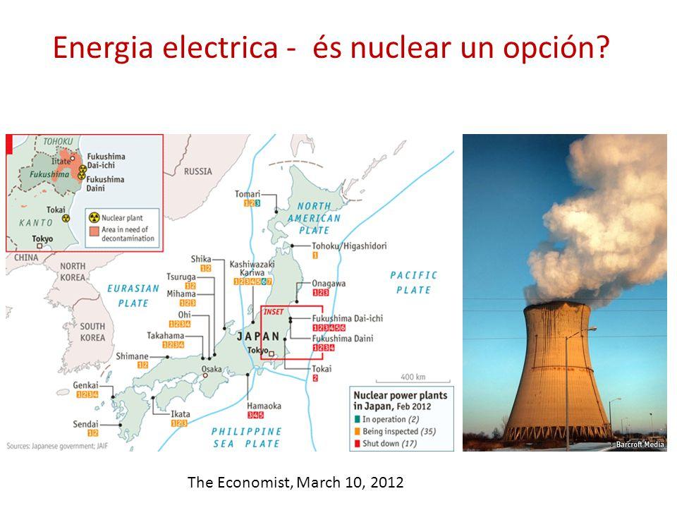 Energia electrica - és nuclear un opción