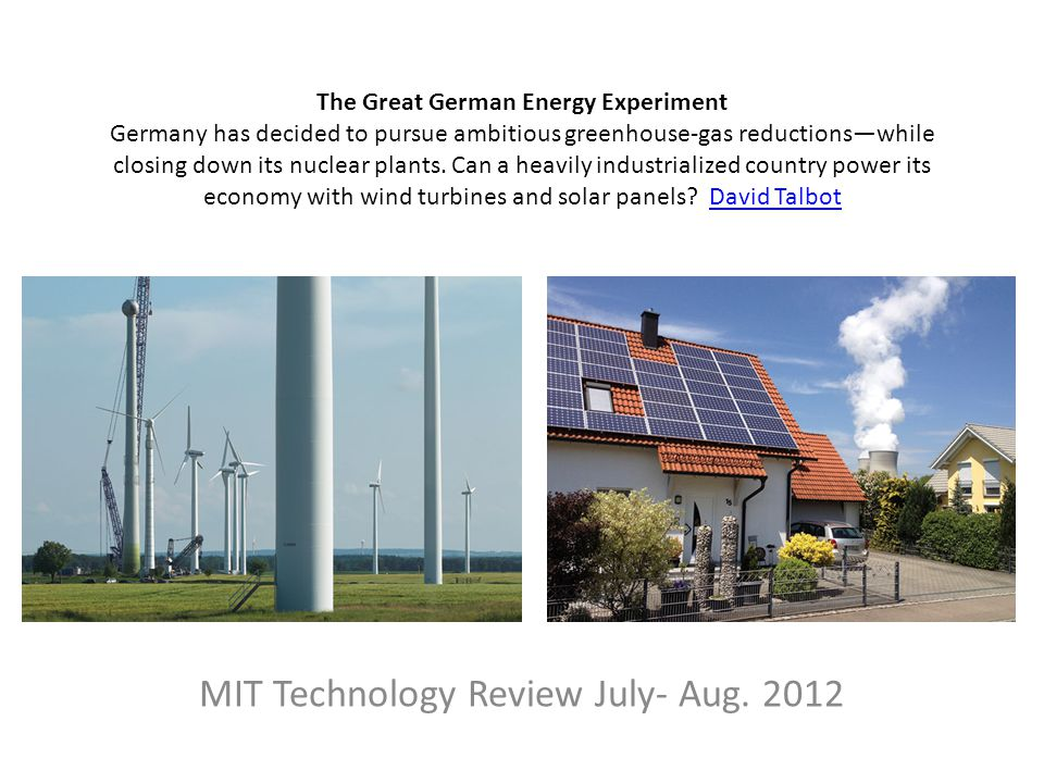 MIT Technology Review July- Aug. 2012