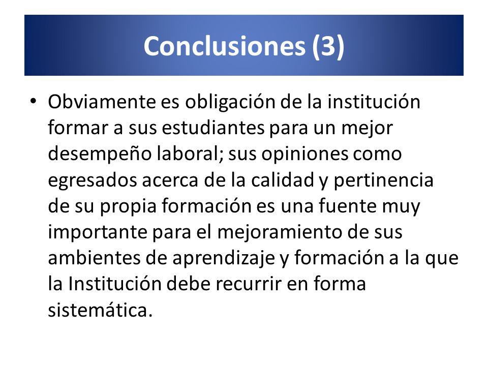 Conclusiones (3)