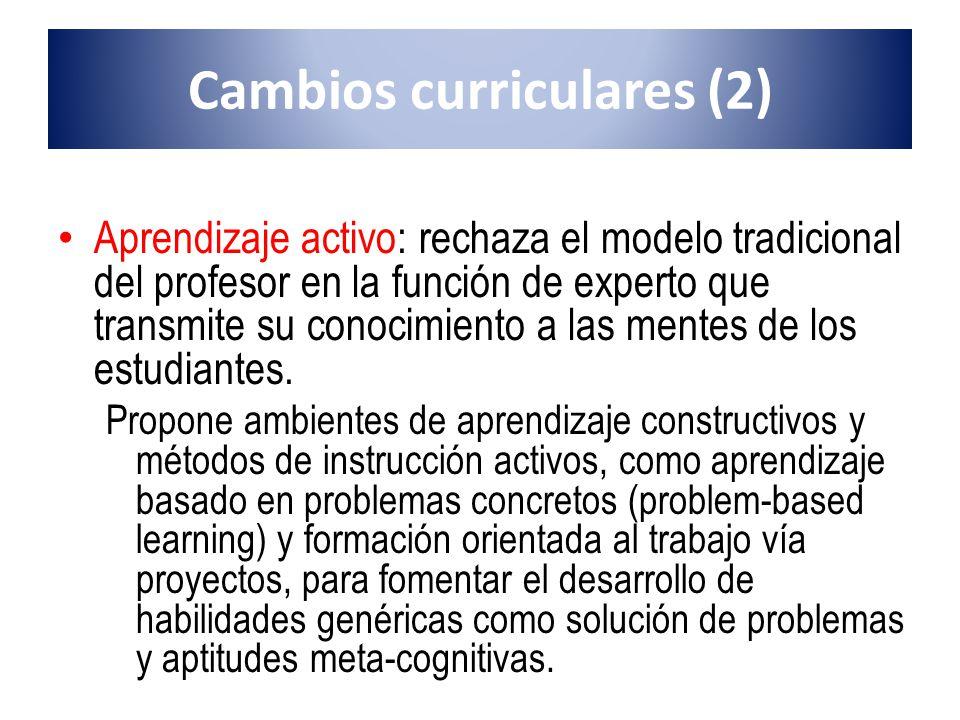 Cambios curriculares (2)